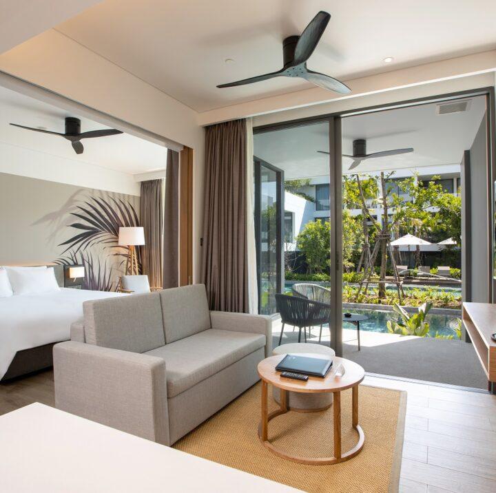1 Bedroom Suite | STAY-WELLBEING-LIFESTYLE-RESORT_ONE-BEDROOM-SUITE-POOL-ACCESS_LIVING-AREA