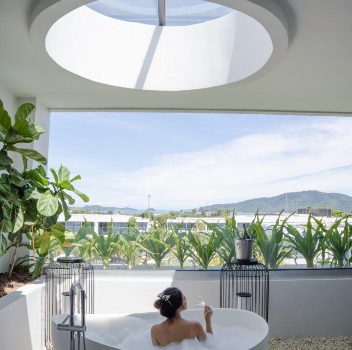 ห้องวิลล่า 3 ห้องนอน | STAY-WELLBEING-LIFESTYLE-RESORT_THREE-BEDROOM-VILLA_BATHTUB