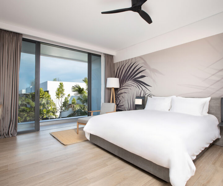 Phuket Sandbox : STAY-WELLBEING-LIFESTYLE-RESORT_TWO-BEDROOM-SUITE-GARDEN-VIEW_BEDROOM