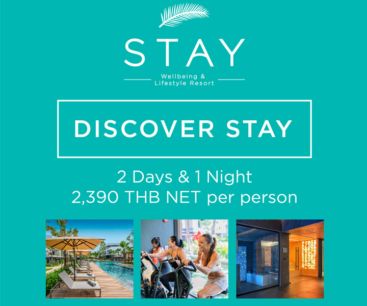 DISCOVER STAY @ 2,390 THB NET per person