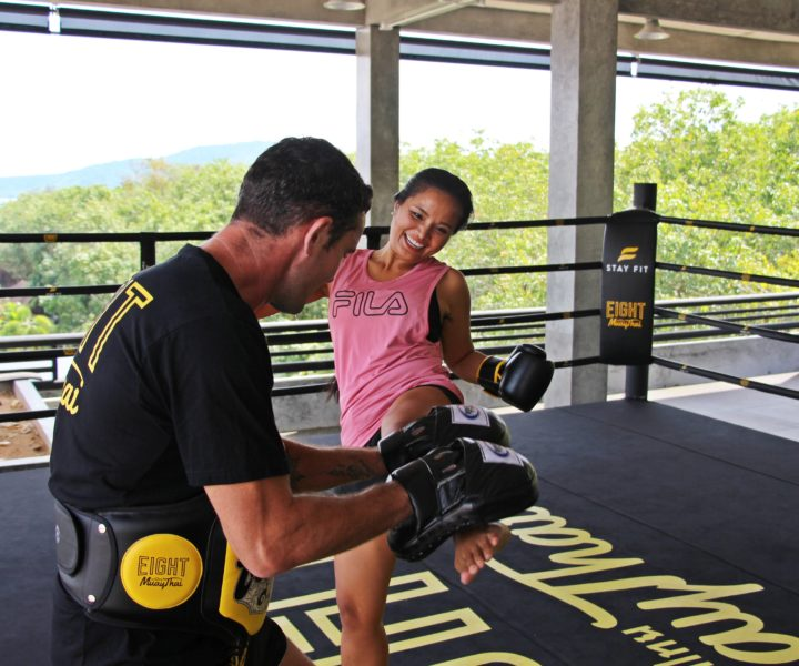 Fitness Packages : private muay thai class