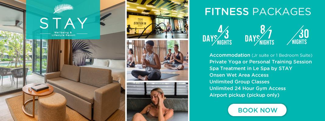 fitness holiday phuket
