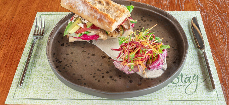 Mediterranean sandwich stay green phuket