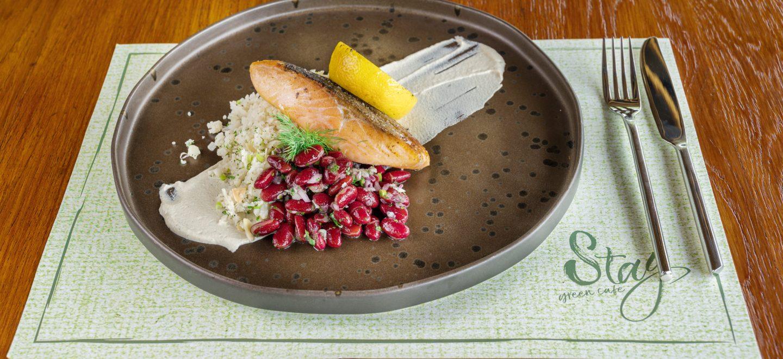 Salmon stay green phuket