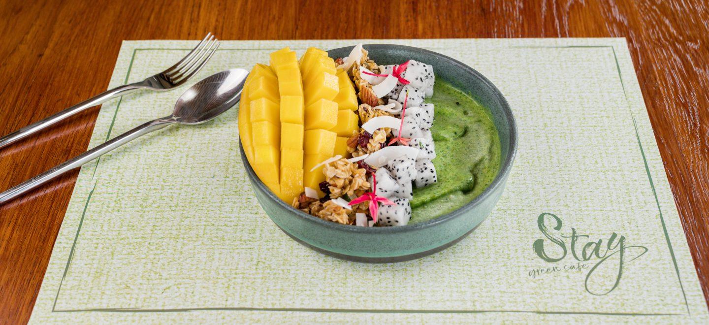 smoothie bowl stay green phuket