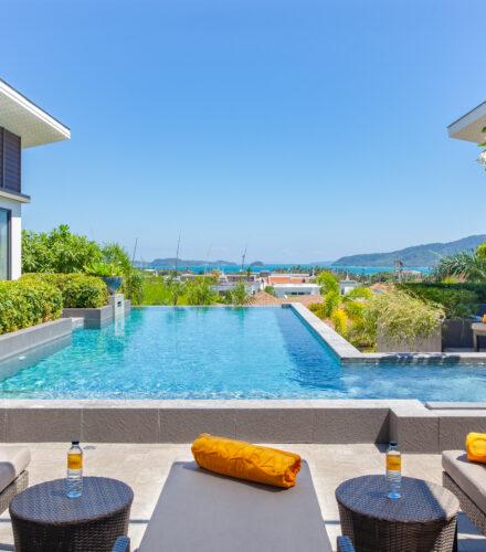 Rooms & Villas : 6 Bedroom Private Pool Villa with Seaview