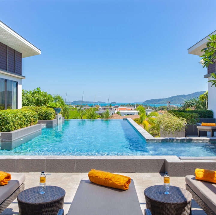 6 Bedroom Private Pool Villa with Seaview | 6 bedroom private pool villa phuket