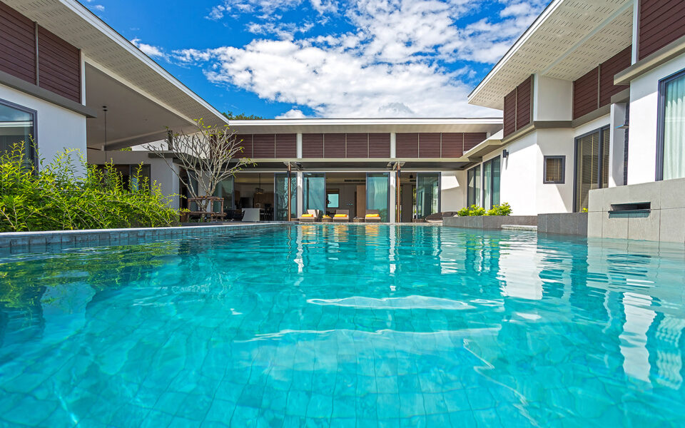 6 Bedroom Private Pool Villa with Seaview : 6 bedroom private pool villa phuket