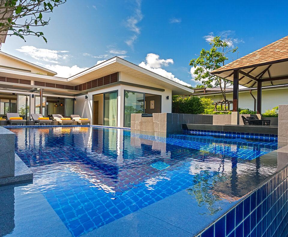 4 Bedroom Private Pool Villa with Partial Seaview : casabay seaview 4 bedroom villa phuket