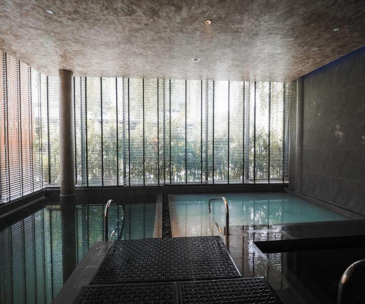 Onsen Wet Area : ice bath spa stay phuket SHA PLUS sandbox resort