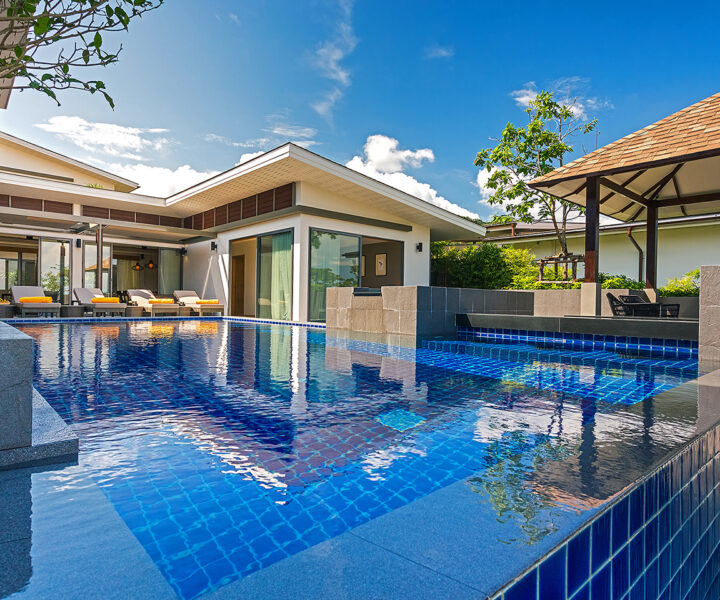 3 to 6 Bedroom Private Pool Villas with Seaview : 4-bedroom-seaview-private-pool-villa-rawai